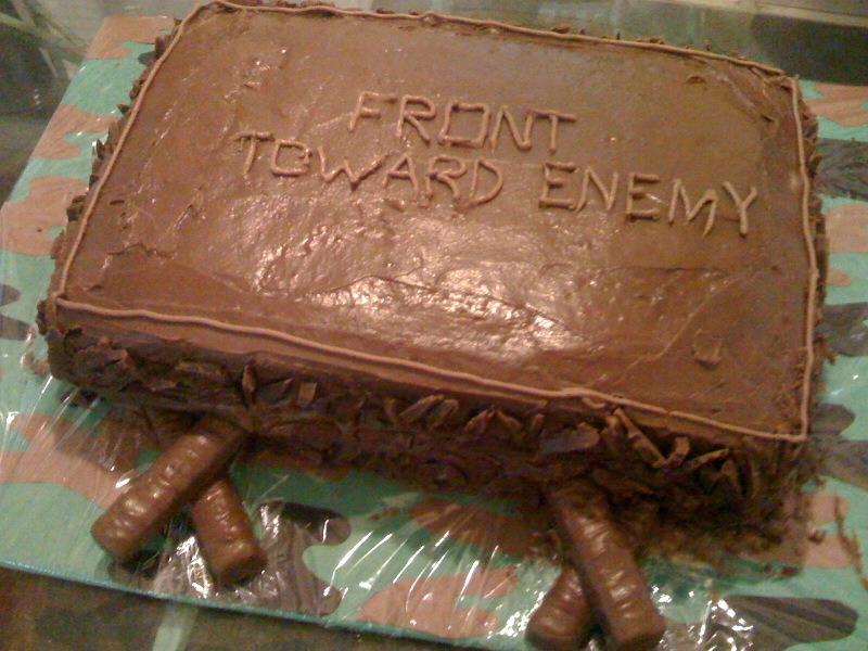 Claymore Cake mine